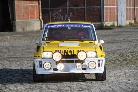 renault 5 turbo b up for auction 1982 renault 5 turbo b