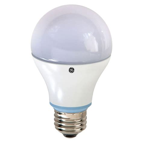 A19 Led Light Bulbs Ge 40w Equivalent Reveal A19 Dimmable Led Light Bulb Led7da19rvlestp The Home Depot