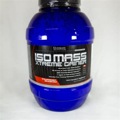 Isomass Xtreme Gainer 3 5 ultimate nutrition iso mass xtreme gainer 4 5kg