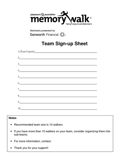 Team Sign Up Sheet Template by Team Sign Up Sheet Template Gse Bookbinder Co