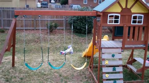 toy r us swing sets toys r us swing set youtube
