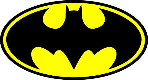 pin batman logo template on