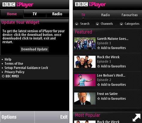 iplayer mobile version iplayer hits version 3 0 for nokia phones intomobile