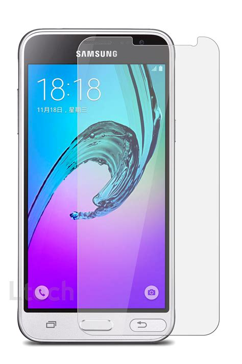 Samsung J3 2016 Tempered Glass Screen Guard Anti Gores Protector Kuat Samsung Galaxy J3 2016 J320 Anti Scratch Transparent