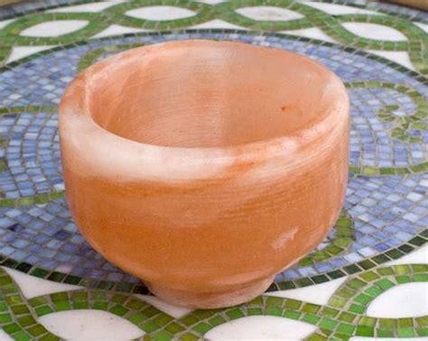 himalayan salt l bowl himalayan salt bowls dishes the meadow