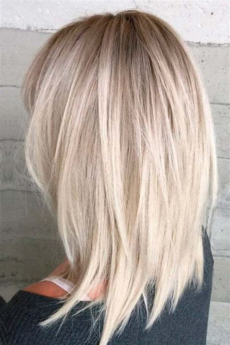 mid length hair cuts longer in front 25 best ideas about medium thick hairstyles on pinterest