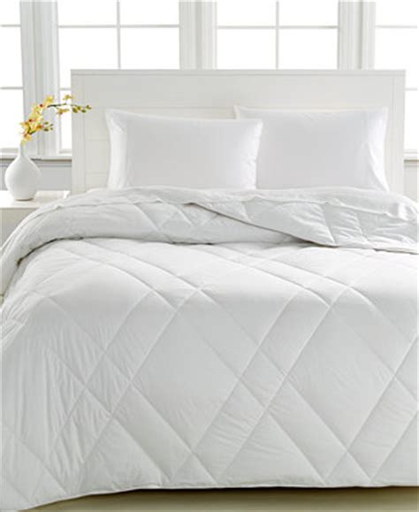 macys down comforters closeout martha stewart collection allergy wise down