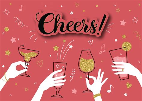 cheers congratulation cards quotes send real postcards