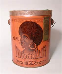 niger hair 2135 a pristine tobacco can quot nigger hair smoke or ch