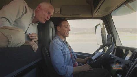 jean claude van damme  volvo trucks  epic split youtube