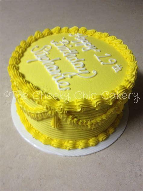 Yellow Birthday Cake Recipe ? Dishmaps
