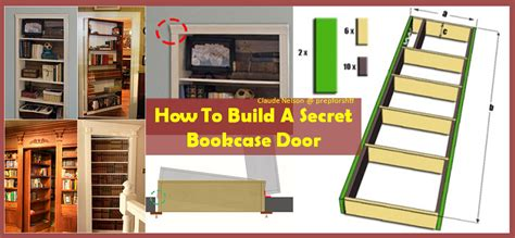 how to build a bookcase door some excellent guidelines on how to make a secret bookcase