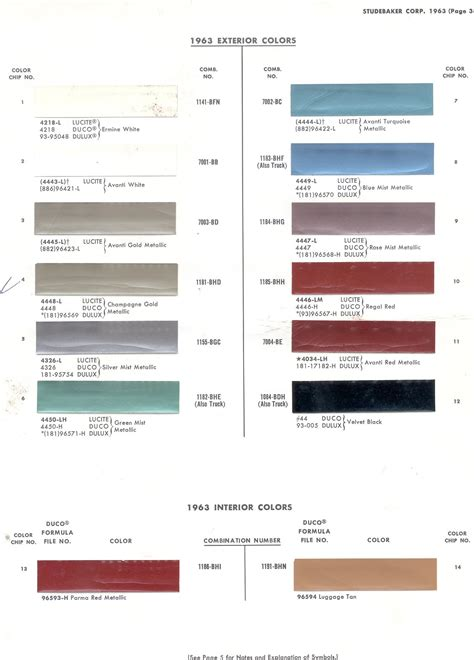 maaco colors maaco auto paint color chart images