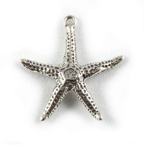 starfish charm 3d sterling silver charms ebay