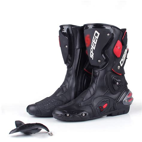 sport bike motorcycle boots men motorcycle leather boots boot shoes waterproof