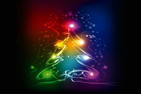 193 rbol de navidad con luces y colores resplandecientes 47513