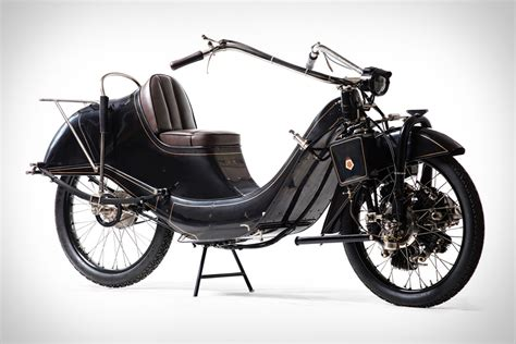 Touring Motorrad by 1921 Megola 640cc Touring Motorcycle Uncrate