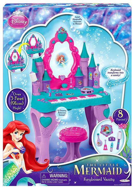Ariel Talking Vanity by Disney Mermaid Ariel Piano Keyboard Vanity Interactive Talking Salon Ebay