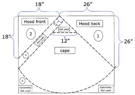 free pattern hooded cape play cape costume tutorial 171 sew mama sew blog wishlist