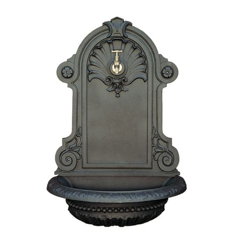 lade a parete da esterno lade da esterno in ghisa fontana a parete completa di