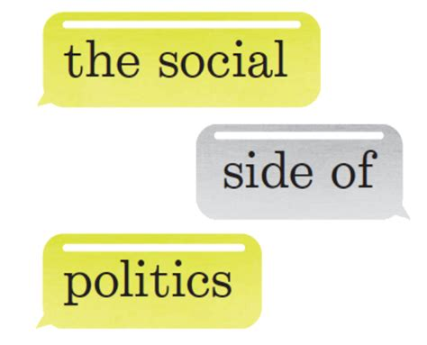 W W Norton Company Desk Copy by The Social Side Of Politics The Society Pages