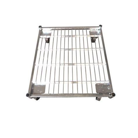 portata container base in acciaio per roll container portata 500 kg