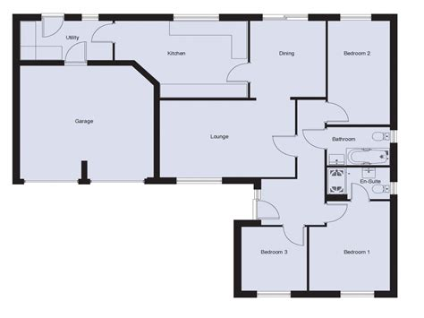2 bed bungalow floor plans 3 bedroom bungalow floor plans 3 bedroom 2 bath bungalows