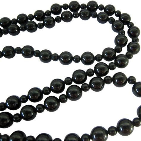 black onyx bead necklace black onyx bead necklace endless from susabellas on ruby
