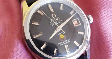 Jam Tangan Mj M C jam jadul sumber hoky titus asian 1962 sold