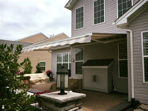 retractable awnings nj new jersey retractable awnings professional awning installation