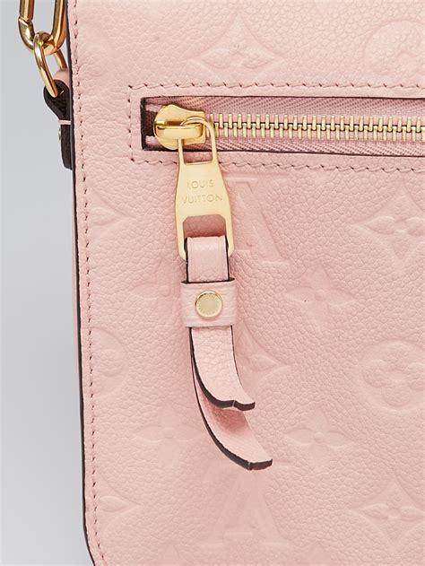 Tas Luis Vuitton Metis Empreinte Ros louis vuitton poudre monogram empreinte pochette