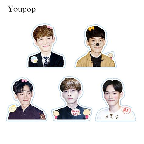Sum Exo Kokobop Sticker Set popular kpop stickers buy cheap kpop stickers lots from