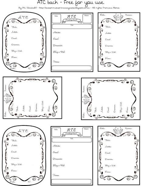 artist trading card envelope template 67 best 2017 envelope templates images on