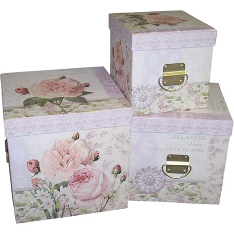 decorative storage nesting boxes organize it home office garage laundry bath