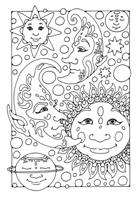 abstract sun coloring page difficult coloring pages for adults coloring page sun