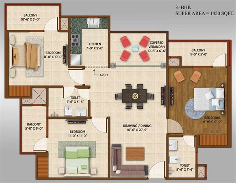 Home Floor Plan Builder ace platinum in sector 1 greater noida by ace