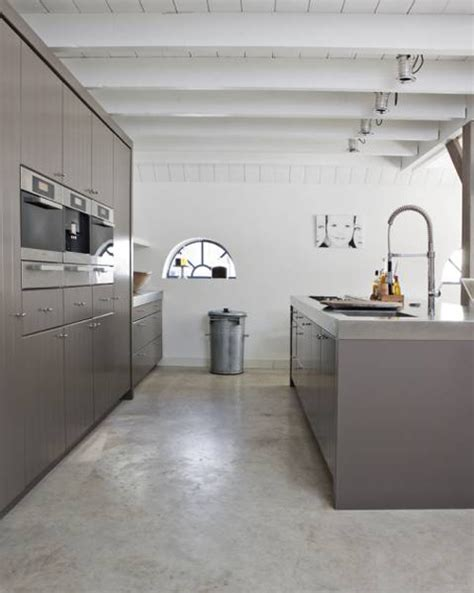 concrete kitchen floor should i polished concrete floors mad about the house