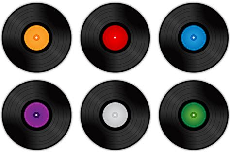 Free Records 6 Free Vinyl Record Vectors Bavotasan