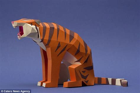 Origami Animals 3d - argentinian origami experts create range of