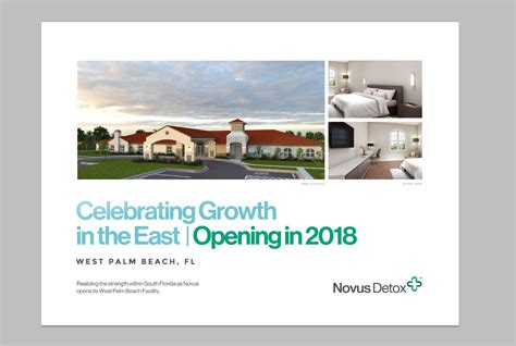 Future Now Detox In West Palm by Novus Detox Center Opens New Treatment Facility In West