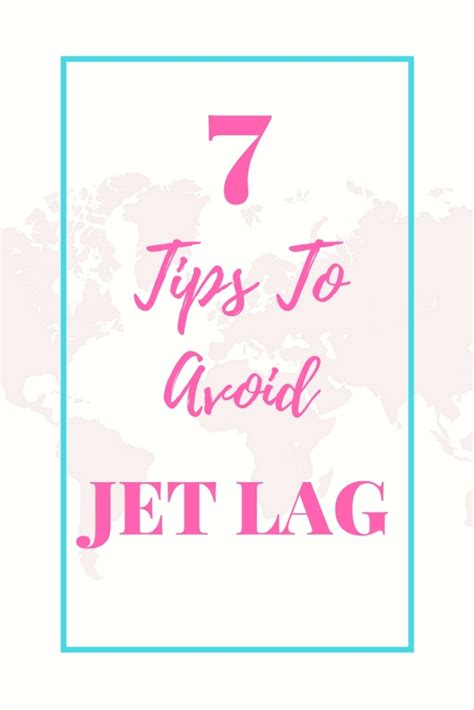 7 Tips To Overcome Jetlag by 7 Tips On How To Avoid Jet Lag On Your Travels