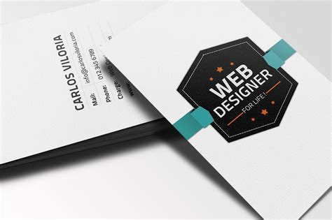 mighty business card template free retro business card psd mightydeals