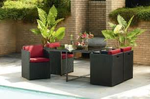compact patio furniture small space patio furniture sets for home decor ideas