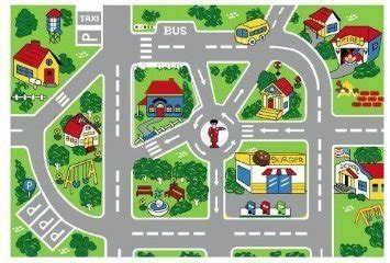 """Streets Map Children Area Rug 39""""x58""""   Home Rugs For Sale"""