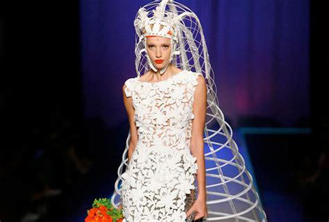 imagenes de vestidos de novia raros los vestidos de novia m 225 s raros que existen mundo es