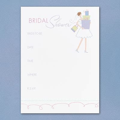 bridal shower invitations bridal shower invitations blank