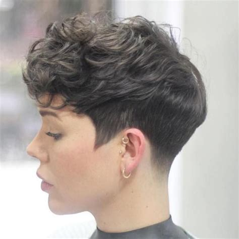 tapper curly haircut styles 25 best ideas about thick pixie cut on pinterest pixie