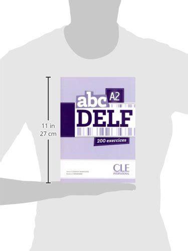 abc delf livre de delf a2 livre cd audio collectif cle internat abc delf 192 pages broche book ebay
