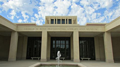 destination dart george w bush presidential library and museum dart daily