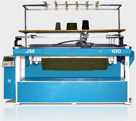 computerized knitting machine semi computerized flat bed knitting machine in ludhiana